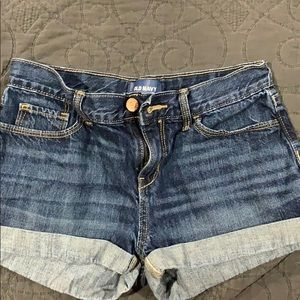 Old Navy cuff girls shorts